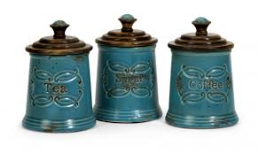 kitchen canisters sets addison ceramic canisters set of 3
