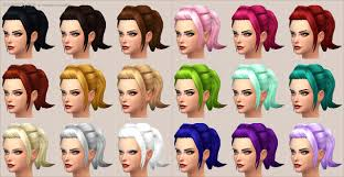 custom hair for sims 4 mod the sims rockabilly hair new mesh