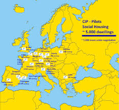 Europe Map Puzzle by Eu Funded Projects Ict For Sustainable Growth Europa