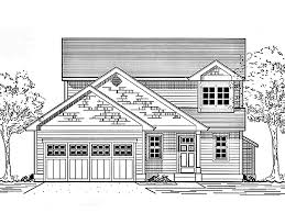 craftsman plan with mission style window 69314am 2nd floor master suite bonus room cad eplans cottage house plan three bedroom cottage 1307 square feet