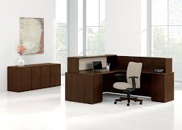 Mobile Reception Desk by Lobby Reception Products National Office Furniture