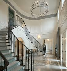 staircase molding ideas staircase traditional with tall ceilings