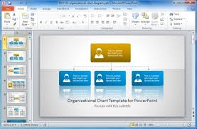 powerpoint organization chart template best organizational chart