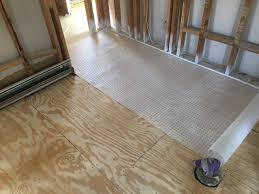 Legacy Laminate Flooring Laying Tile Over Uncoupling Membrane Underlayment Angie U0027s List