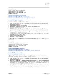 Sample Resume For Sql Developer by Joe Michel 2015april09 Sql Crm Bi Resume With References For All Jobs