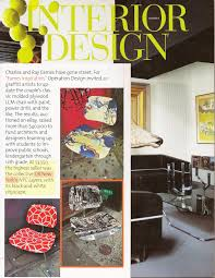 beautiful interior design magazine cover with interior design