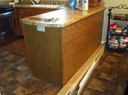 adding a kitchen island adding character to a kitchen island peninsula home staging in