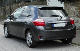 toyota germany file toyota auris facelift rear 20100926 jpg wikimedia commons