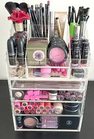 Bathroom Makeup Storage Ideas by Best 10 Acrylic Makeup Organizers Ideas On Pinterest Large