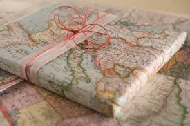 where to buy gift wrap map gift wrap ramshackle glam