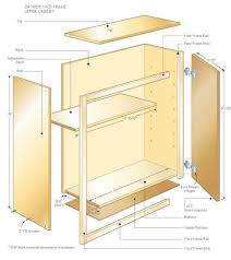 Kitchen Cupboard Designs Plans 8 Kitchen Cabinet Building Plans Having Woodworking Free 13 Lofty