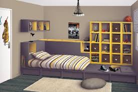 accessoire chambre ado astuce rangement chambre ado visuel 3