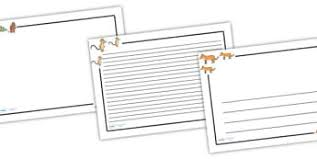 the gruffalo writing frames and worksheets primary page 1