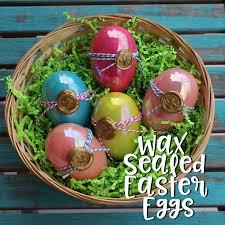 fancy easter eggs doodlecraft wax sealed easter eggs