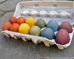 a messy kitchen brown eggs and natural dyes yes you can