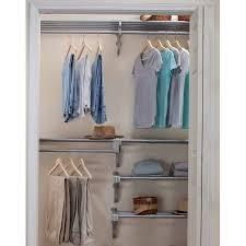 ez shelf walk in closet organizer 5 closet shelves and rods and 4