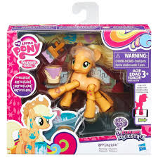 my little pony explore equestria painting applejack set new sealed
