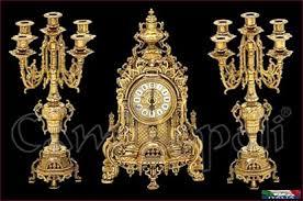 candelieri antichi orologio con candelieri v127 caminopoli la citt罌 degli