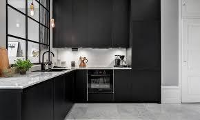 cuisine noir mat cuisine la nouvelle tendance deco clemaroundthecorner