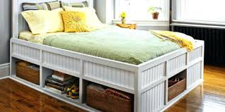 Seahorse Bed Frame Storage Bed Frames Storage Beds For Adding More Storage Space In
