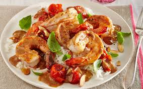 cooking light diet recipes curried shrimp and melted cherry tomatoes from the cooking light