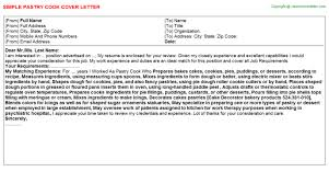 cover letter cook cover letter sample free resume cover and
