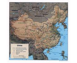 Changsha China Map by Maps Of China Detailed Map Of China In English Tourist Map