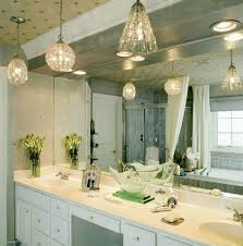 bathroom ceiling lights ideas the suspension lighting for a luxury bathroom