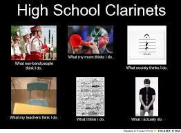 Clarinet Player Meme - band memes to brighten the day rockingbandkid