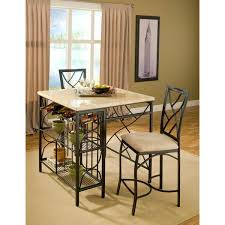 kitchen island overstock bernards kitchen island with 2 barstools free shipping today