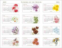 flower of the month clip of a 2015 flowers of the month calendar 2015 flowers of