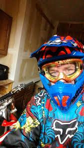 motocross helmets with goggles masei m u0026 oneal red 312 atv motocross motorcycle ktm dirtbike helmet