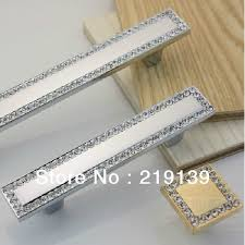 zinc vs stainless steel cabinet hardware 2pcs crystal zinc alloy furniture kitchen drawer cabinet pull