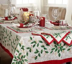 lenox holiday table cloth and napkin set u2014 qvc com