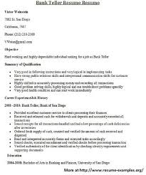 examples of written resumes resume letters examples samples