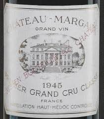 chateau margaux i will drink fancy a bottle of chateau margaux from the famed 1945 vintage