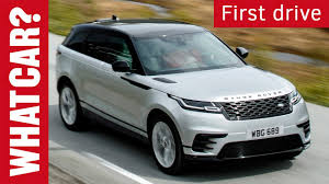 range rover velar review is land rover u0027s latest suv a hit