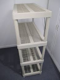 Plastic Shelving Unit by Shelving Unit 4 Tier Plastic Shelves 36 Width X 18 Depth X 55 Height