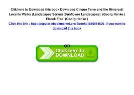download cinque terre and the riviera di levante walks landscapes se
