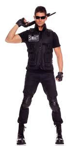 mens costume commander mens costume swat team costume swat costume