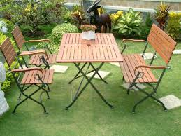 green metal outdoor table wood and metal patio furniture outdoor furniture barbecue modern