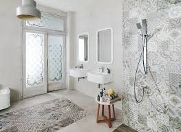 bathroom modern bathroom design with elegant porcelanosa tile and