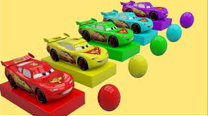aprende los colores cars 3 lightning mcqueen video educativo