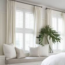 Wooden Plantation Blinds Blinds Shades U0026 Plantation Shutters U2014 Curtains Blinds U0026 Bath