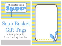 Soup Gift Baskets Souper Gift Basket Darling Doodles