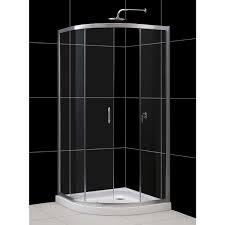 Install Shower Door by Bathroom Corner Frameless Shower Door With Daltile Wall And