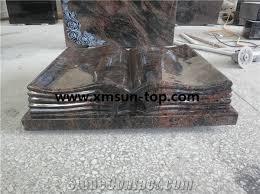 granite grave markers paradiso granite book slant grave paradiso granite book shape
