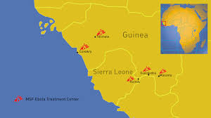west africa map ebola resurgence of epidemic ebola in west africa médecins sans
