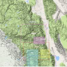 Sequoia National Park Map Kings Canyon High Country U2013 Tom Harrison Maps