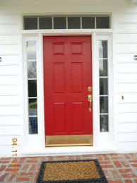 24 Inch Exterior Door Home Depot The Florkens Our Front Door Makeover Intended For Magnetic Kick